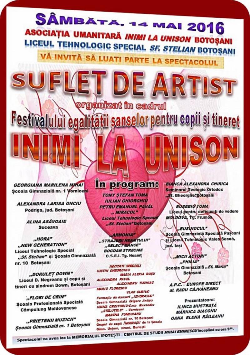 """""""Suflet de artist"""" la Ipoteşti!"""