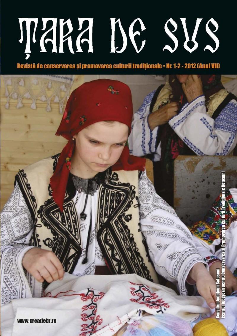"""""""Ţara de Sus"""", o revistă pentru conservarea şi promovarea culturii tradiţionale"""