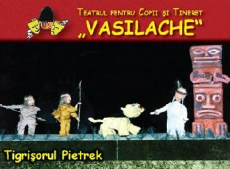 """""""Tigrişorul Pietrek"""" vine, duminică, la Teatrul Vasilache!"""
