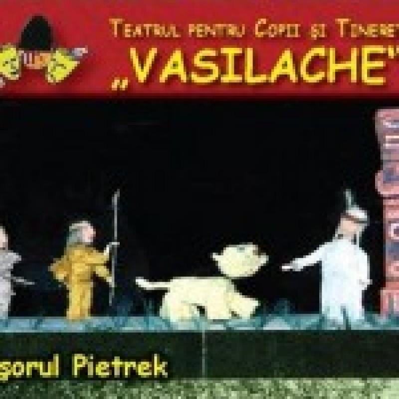 """""""Tigrisorul Pietrek"""" vine, duminica, la Teatrul Vasilache"""