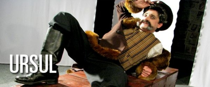 """""""Ursul"""" revine pe scena Teatrului Eminescu!"""