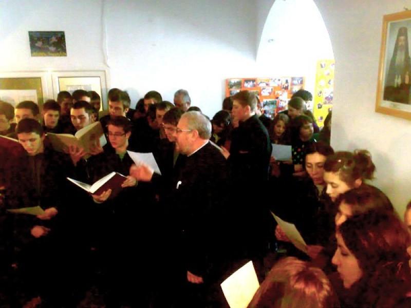 """""""Viaţa liturgică şi duhovnicească din seminariile botoşănene"""""""