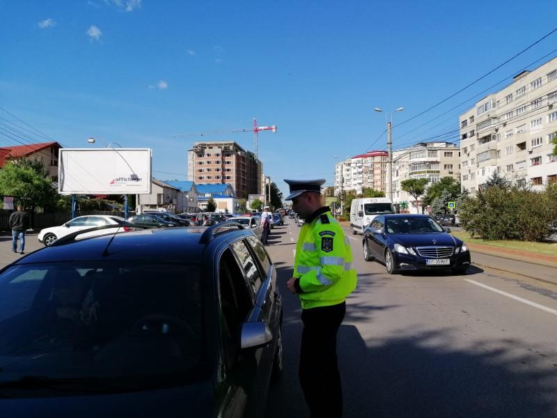 Radarele s-au deplasat în tot județul, ieri. Peste 50 de șoferi au fost sancționați