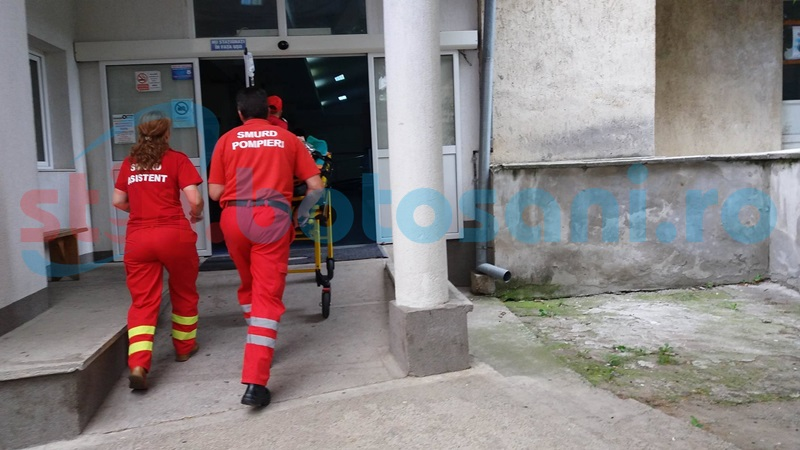 Raft căzut peste un copil într-un magazin din Botoșani!