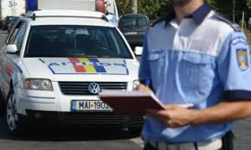 Raid al poliției rutiere, în weekend: 26 de permise reținute