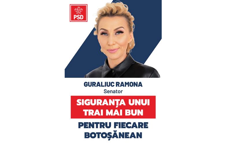 """Ramona Guraliuc, medic primar, șef UPU-SMURD, candidat PSD la Senat: """"PSD este singurul partid responsabil care se gândește în primul rând la viața și sănătatea românilor."""""""