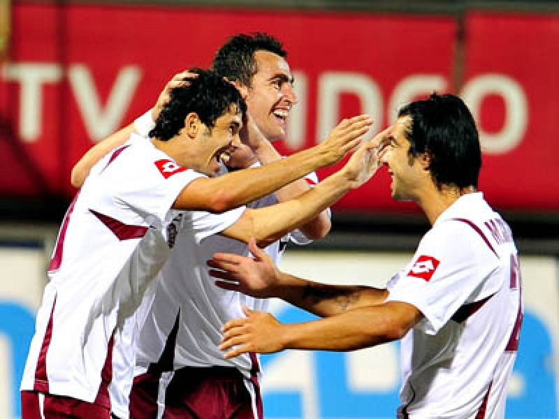 Rapid Bucureşti - primul lider al Ligii I în sezonul 2009/2010