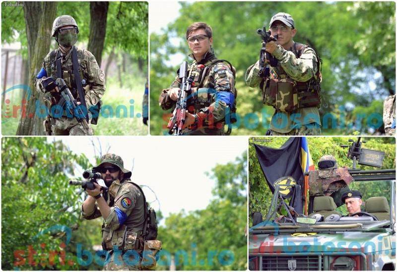 """Război TOTAL la Agafton! Românii, moldovenii si ucrainienii s-au luptat pentru """"Codrii de Aramă"""" - FOTO, VIDEO"""