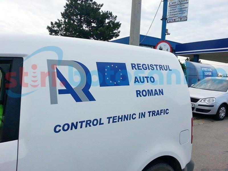 Razie a polițiștilor rutieri și a specialiștilor de la RAR pe drumurile din județul Botoșani!