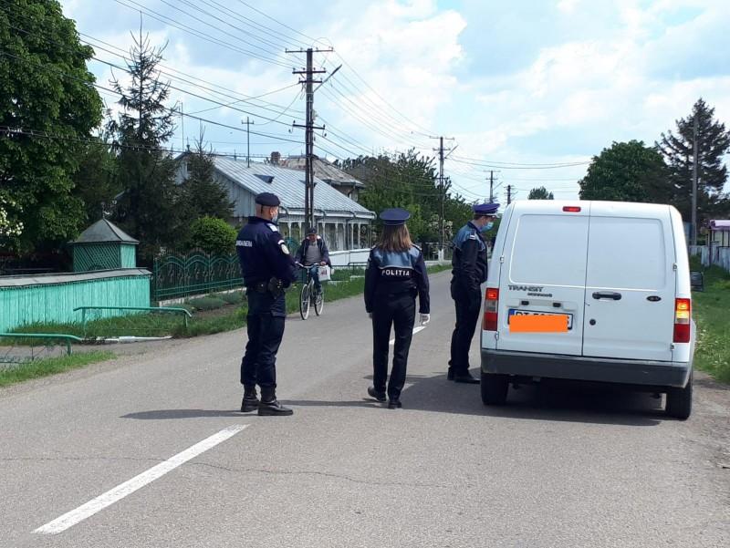 Razii ample ale poliției în județ, zeci de sancțiuni aplicate