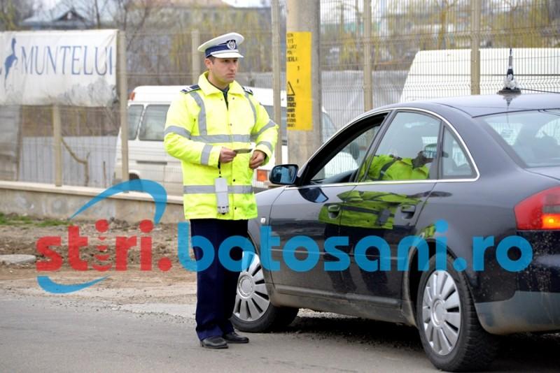 Șoferi lăsați fără permis și sute de amenzi aplicate de polițiști, de Paști!