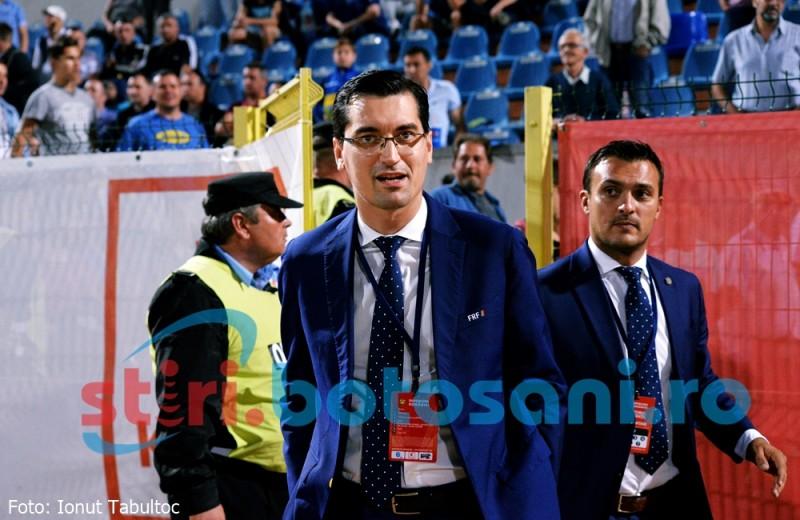 """Razvan Burleanu: """"Mi-a placut aici la Botosani. Clubul de aici e model"""""""