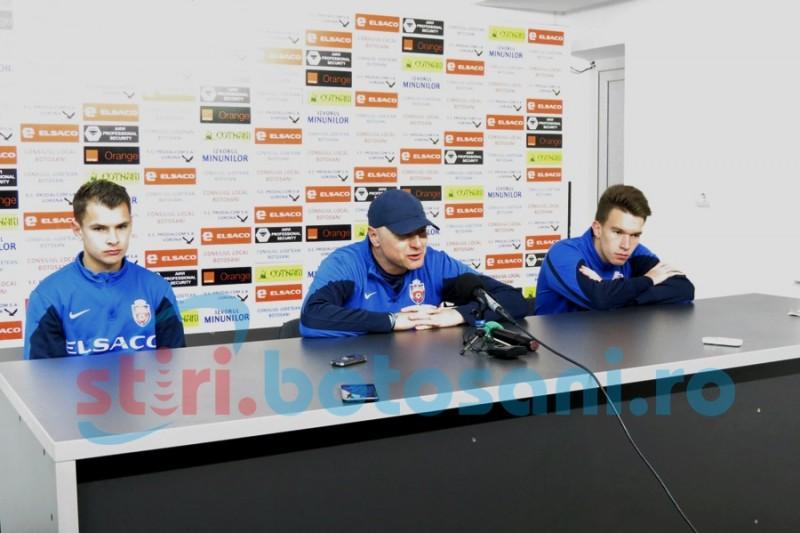 """Răzvan Greu și Lorand Fulop sunt pregătiți pentru a juca împotriva ASA-ului: """"Dacă o să mă bage antrenorul sunt pregătit psihic și fizic"""""""