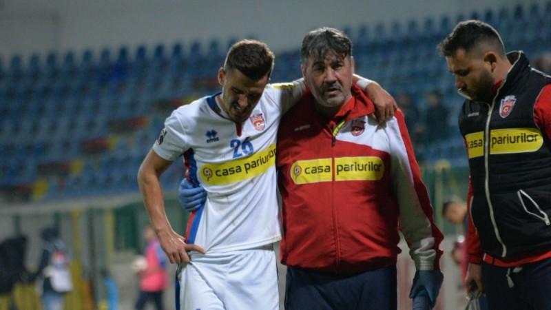 """Răzvan Oaidă, unul dintre cei mai importanţi jucători ai naţionalei U21, este operat astăzi, la București. """"Mă voi întoarce pe teren mai puternic"""""""