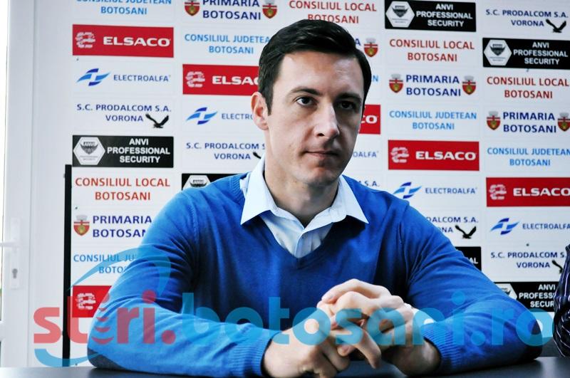 """Razvan Tincu, inaintea meciului cu Ceahlaul: """"Suntem mult mai valorosi decat ei""""! Vezi ce spune despre spectatori!"""