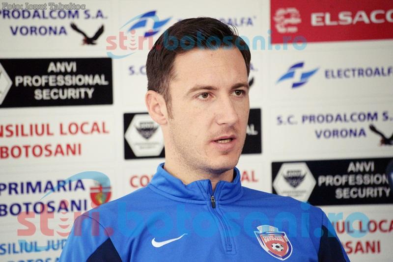 """Razvan Tincu, inaintea meciului cu Pandurii: """"Cred că acest meci este unul foarte periculos"""""""