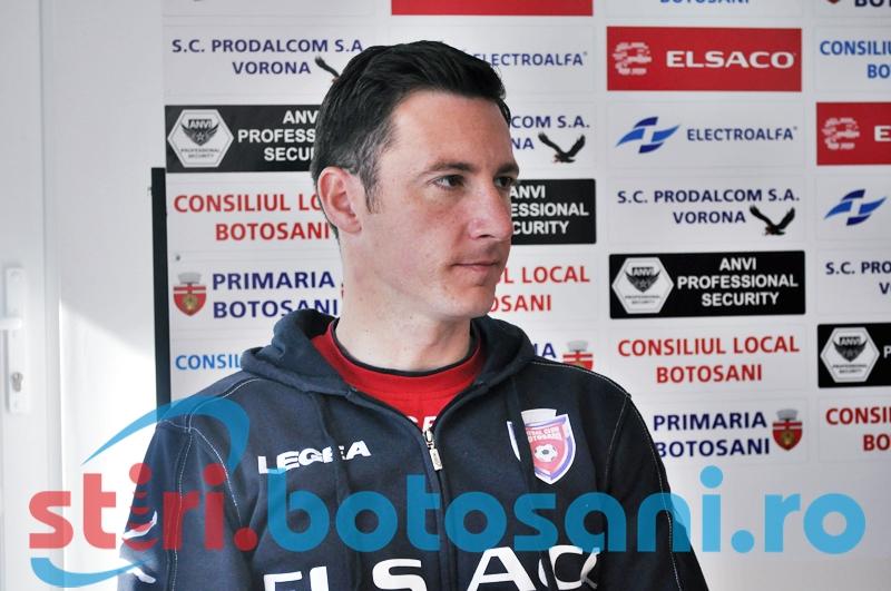 """Razvan Tincu: """"Cred ca putem sa urcam mai sus. Mergem la Piatra Neamt sa castigam"""" - VIDEO"""