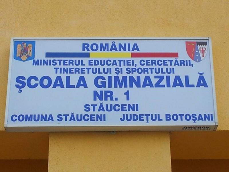 Reacție a directorului Școlii din Stăuceni la declarațiile fostului primar