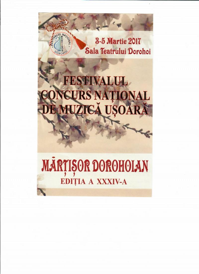 """Recital Corina Chiriac și Horia Moculescu președinte de juriu, la """"Mărțișor Dorohoian""""!"""