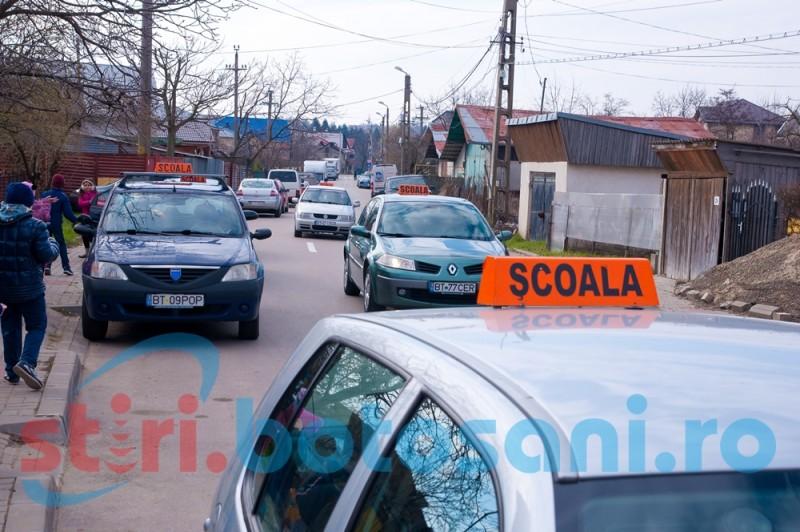 Reclamații de la mașinile-școală care circulă prin Botoșani! Ce măsuri vor fi luate!
