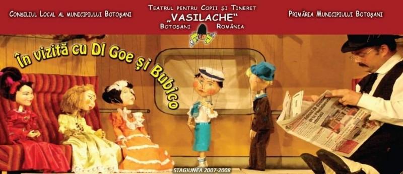 """Recomandare de weekend: Un nou spectacol online oferit de Teatrul """"Vasilache"""""""