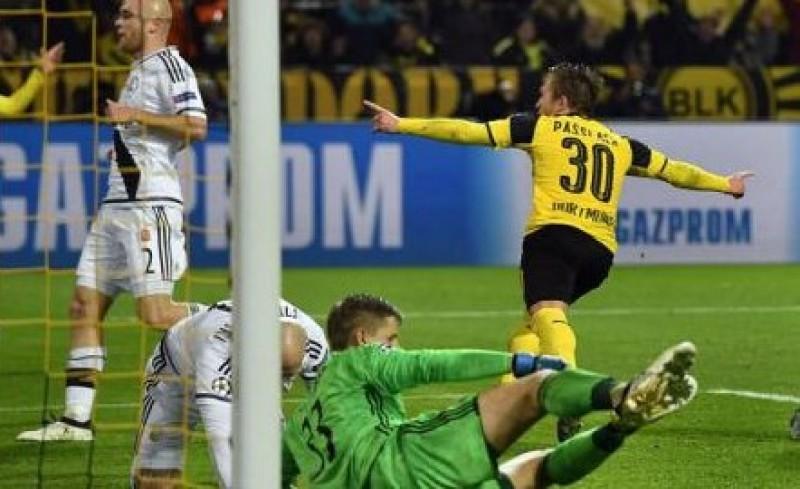 Record de goluri în Liga Campionilor la Dortmund, Borussia - Legia Varșovia 8-4 - VIDEO