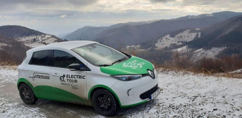 Record în România: cea mai lungă distanță parcursă cu o mașină electrică - VIDEO
