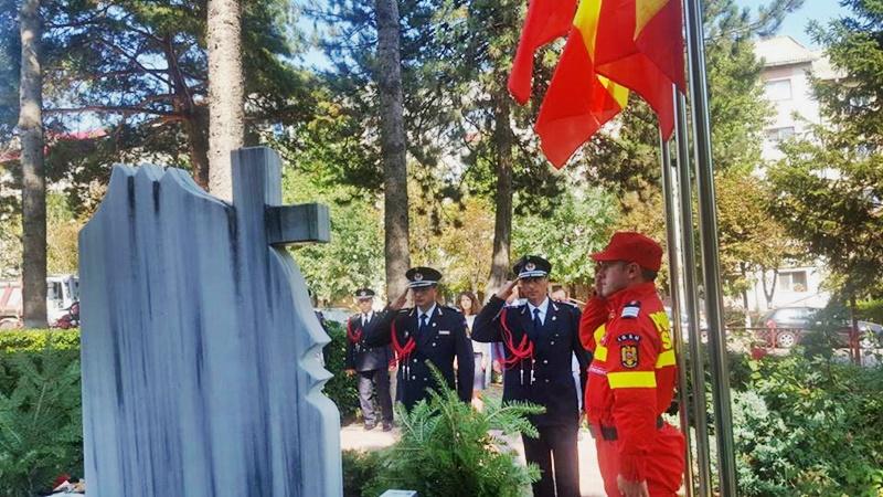 Recunoștință eroilor pompieri! FOTO