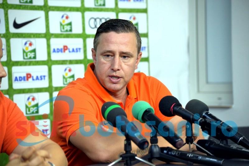 """Reghecampf mai vrea o victorie cu Botosani: """"Mă interesează acest meci și nu voi menaja pe nimeni"""""""