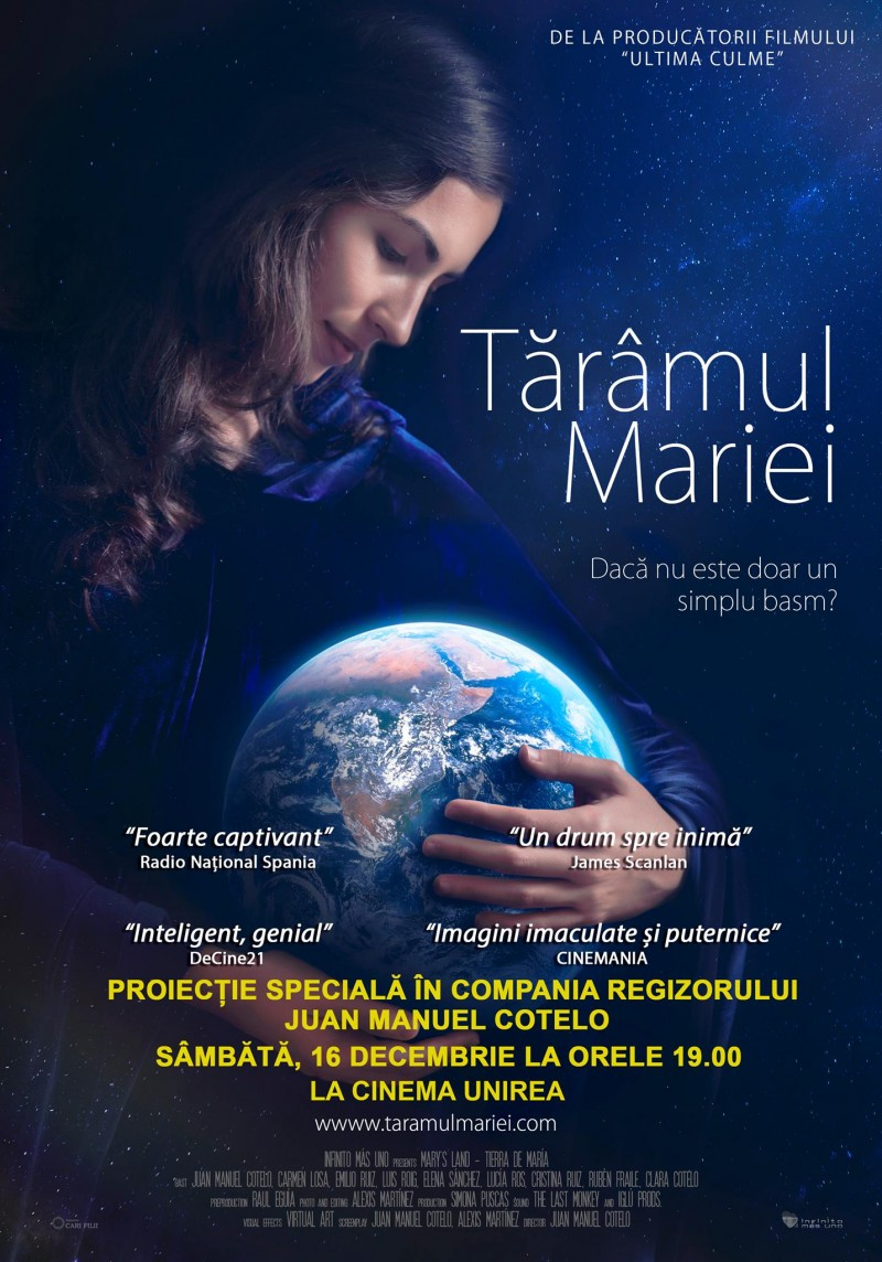 """Regizorul Juan Manuel Cotelo aduce """"Tărâmul Mariei"""" la Cinema Unirea Botoșani! VIDEO"""