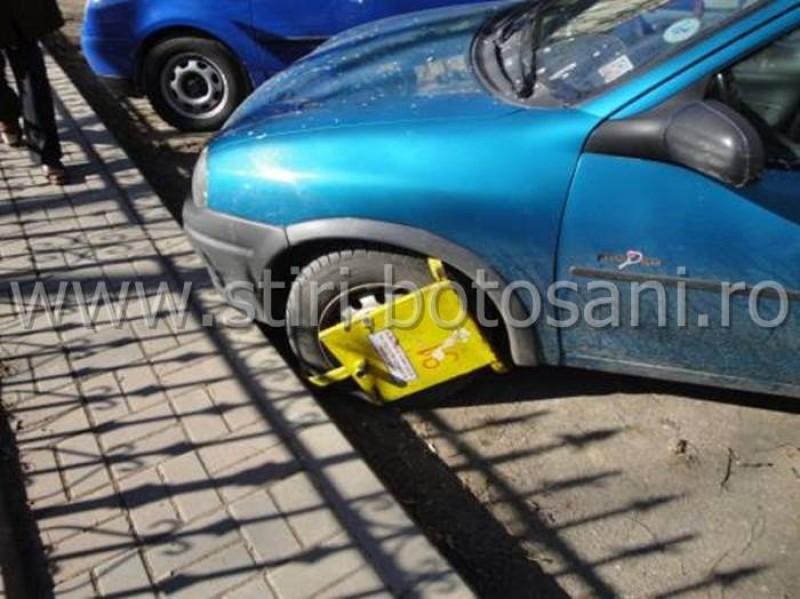 Regulamentul privind blocarea şi ridicarea maşinilor, din municipiul Botoşani, intră în Consiliul Local!