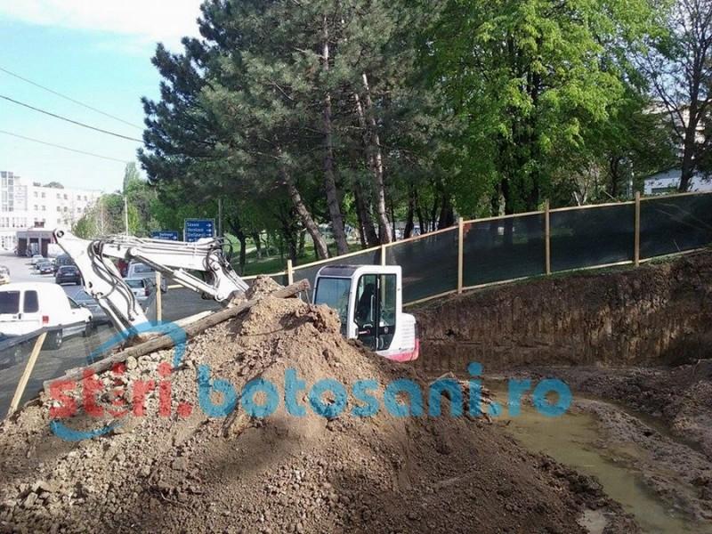 Reguli dure pentru furnizorii de utilități care intervin pe străzile din Botoșani! Fără pământ pe asfalt și taxă de ocupare a locului public!