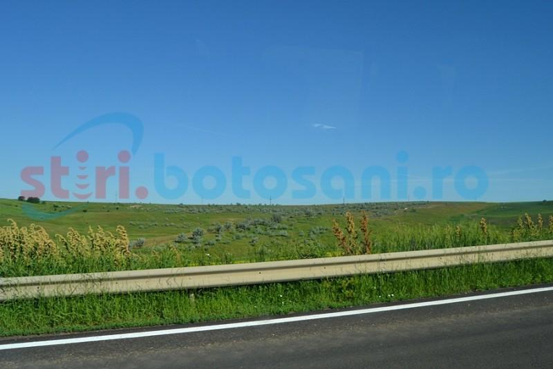 Reparaţii pe bucăţi pe drumul naţional 29 Botoşani- Săveni