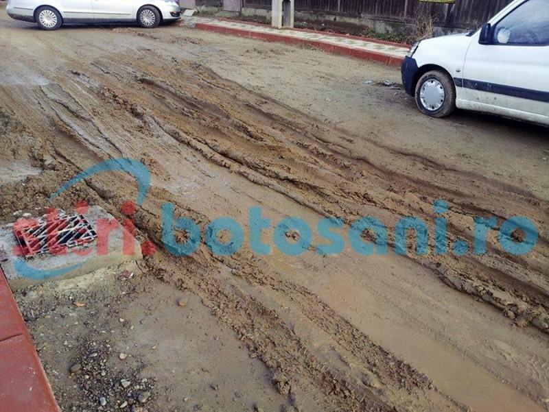 Reparații pe străzile nemodernizate din municipiul Botoșani