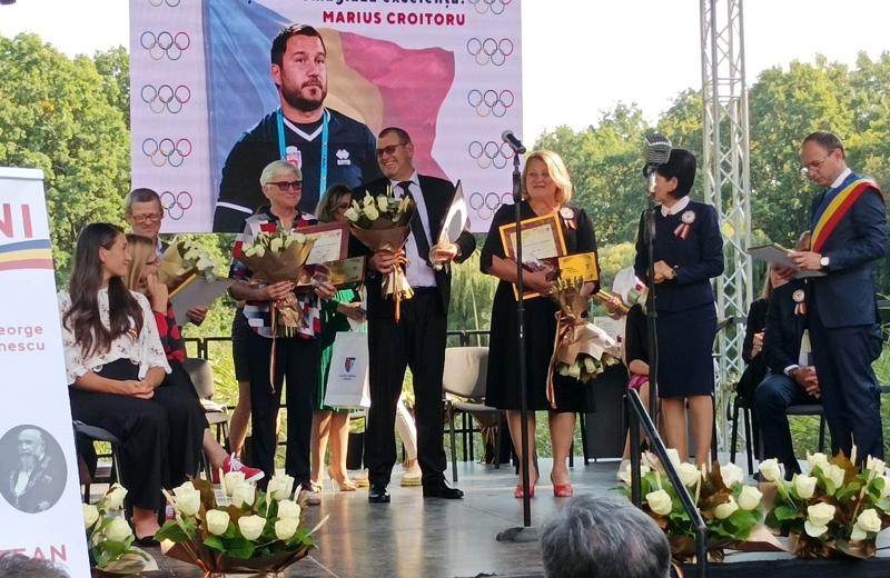 RESPECT pentru olimpicii Simona Radiș și Mugurel Semciuc! Sportivii au fost premiați astăzi de autoritățile de la Botoșani