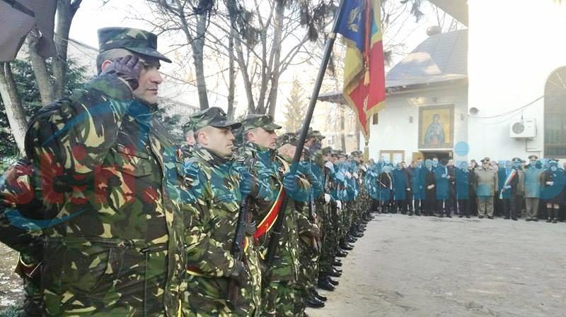 Ceremonial organizat la Botoșani cu prilejul Zilei victoriei Revoluției Române