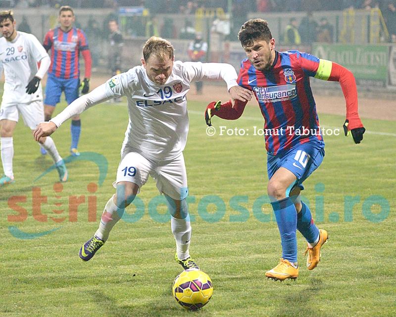 Rezultat SOC in Liga 1: Steaua pierde pe teren propriu in fata Otelului, 1-2