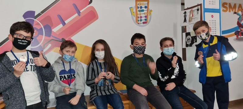 Rezultate deosebite pentru șase copii din Botoșani care au participat la Olimpiada Internațională de Aritmetică