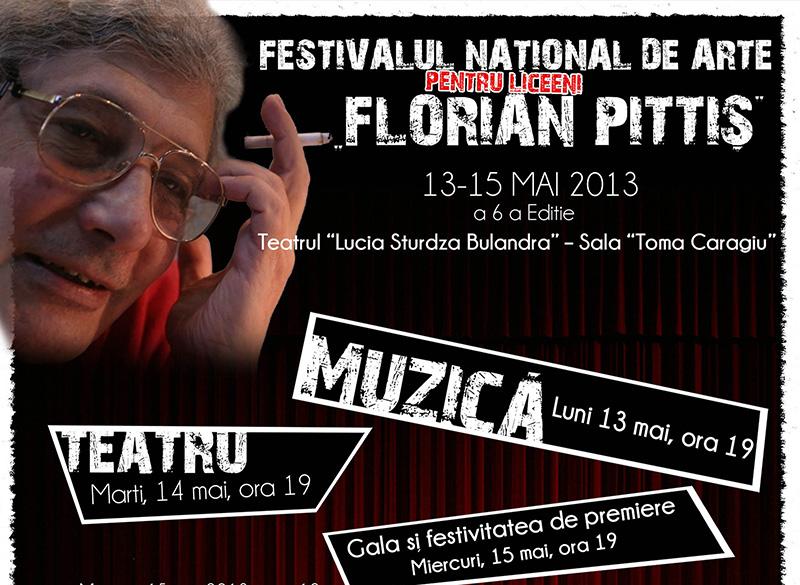 Rezultate excepționale ale botoșănenilor, la Festivalul naţional de arte pentru liceeni FLORIAN PITTIŞ!