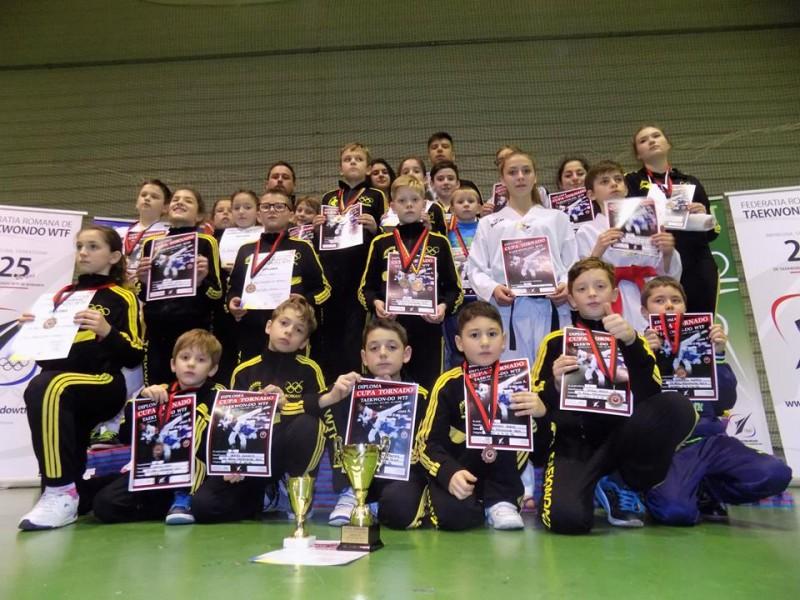 Rezultate exceptionale obtinute de CS REAL TAEKWONDO TEAM la Campionatul National de Poomsae si Cupa Tornado!