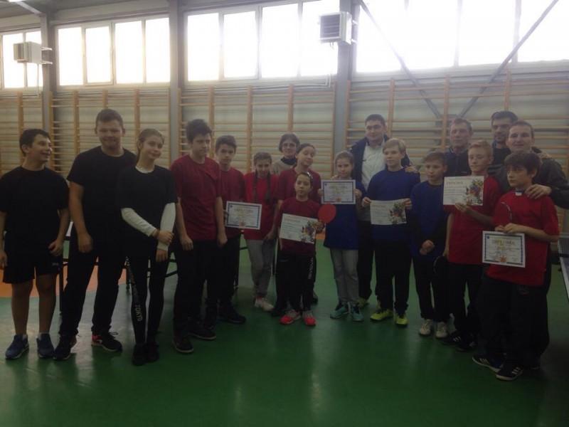 Rezultate obținute la Olimpiada Naţională a Sportului Şcolar şi Olimpiada Gimnaziilor la tenis de masă - Etapa județeană