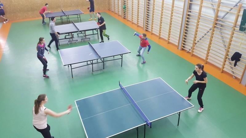 Rezultatele la etapa județeană a Olimpiadei Gimnaziilor la tenis de masă
