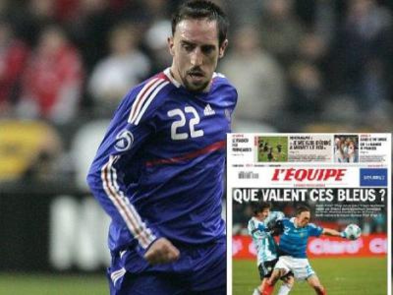 Ribery doar rezerva! Atacul Frantei cu Romania face 108 mil euro! Vezi aici echipa