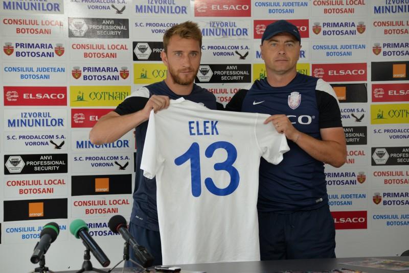"""Robert Elek: """"Este un pas mare făcut de mine. Mă bucur că am ajuns la FC Botoşani"""""""