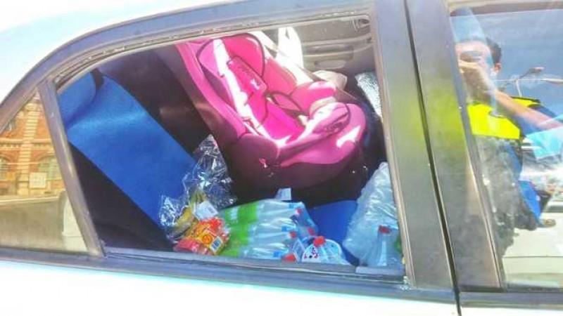 Româncă arestată pe loc, în Spania: Și-a lăsat fetița în mașina parcată la soare, copilul abia respira!