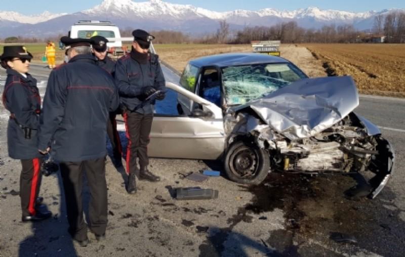 Româncă în stare critică, în urma unui accident rutier. La volan era un bătrân de 96 de ani, care a decedat pe loc!