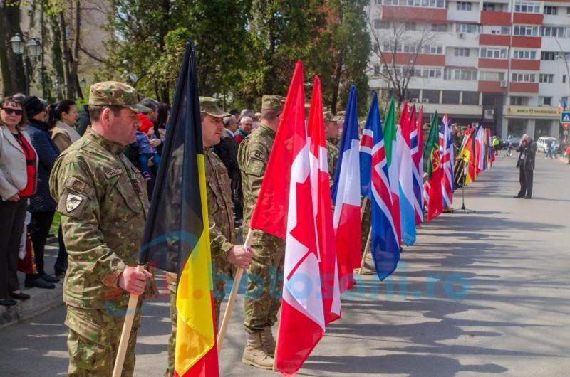 România- 15 ani de drepturi şi obligaţii ca stat membru al NATO FOTO, VIDEO