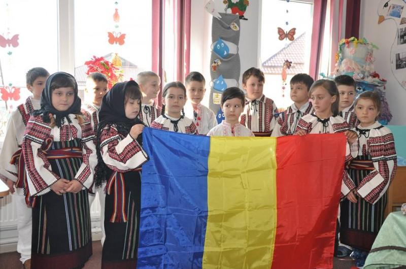 România Centenară, sărbătorită și la Școala Albești! FOTO