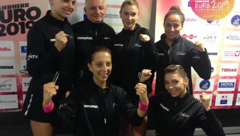 România, din nou campioană europenă la tenis de masă