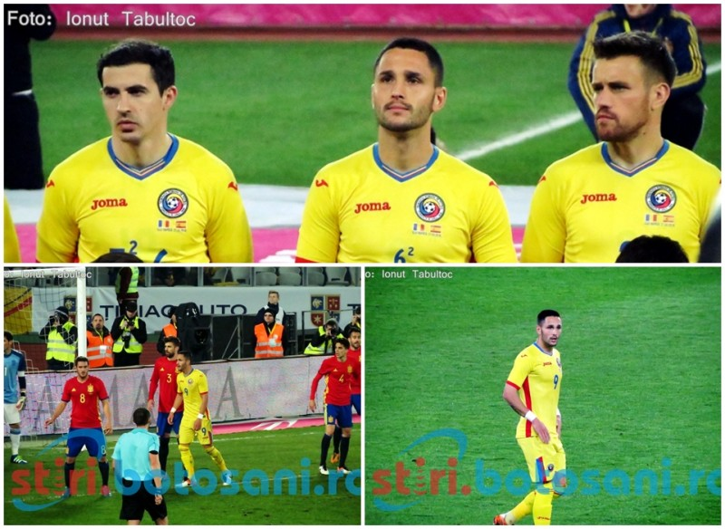 Romania, egala campioanei Europei! Andone s-a duelat din nou cu Pique! GALERIE FOTO, VIDEO